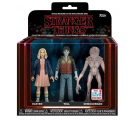 Набор фигурок Funko Stranger Things (Eleven, Will, Demogorgon) 3.75""