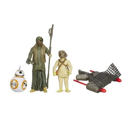 Набор фигурок Star Wars The Force Awakens Desert Mission BB-8, Unkar's Thug, and Jakku Scavenger 3-pack